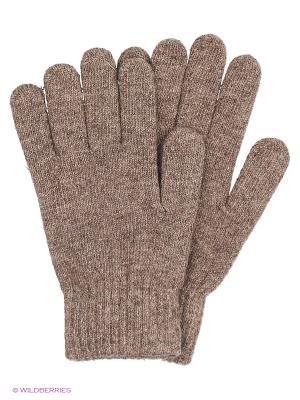 Перчатки Punta. Цвет: бежевый