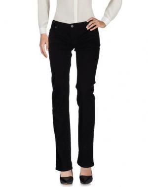 Повседневные брюки 2W2M. Цвет: черный