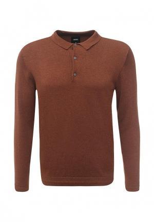 Поло Burton Menswear London. Цвет: коричневый