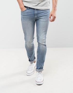 Levis Line 8 Эластичные джинсы скинни. Цвет: синий