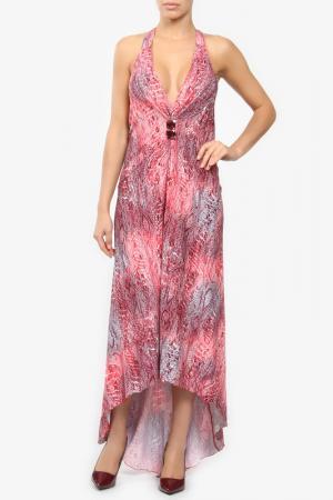 Платье M&L Collection. Цвет: розовый