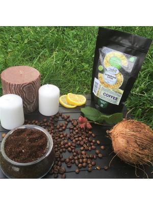 Кофейный скраб с маслом Лесного Ореха и Кокоса, 200 гр Grosheff. Цвет: коричневый