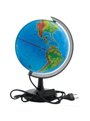 Глобус физический с подсветкой, 32см Rotondo. Цвет: голубой