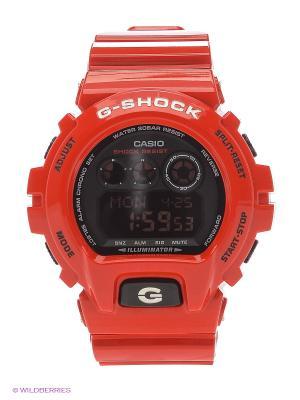 Часы G-Shock GD-X6900RD-4E CASIO. Цвет: красный
