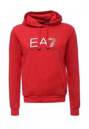 Худи EA7. Цвет: красный