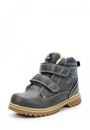 Ботинки Fullstop. Цвет: серый