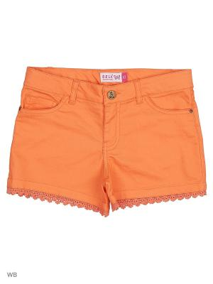 Шорты SELA. Цвет: оранжевый