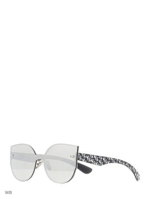 Солнцезащитные очки Vita pelle. Цвет: серый