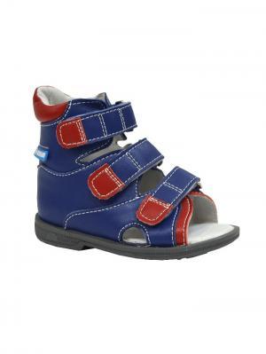Обувь ортопедическая малосложная EGER, арт. 7.29.2 ORTMANN. Цвет: синий, красный