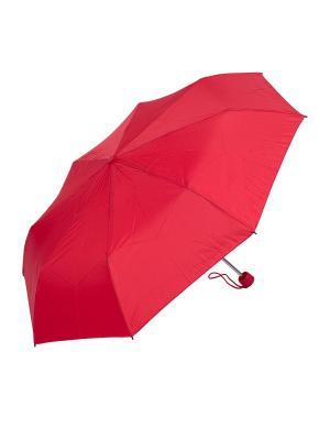 Зонт складной NUAGES. Цвет: красный