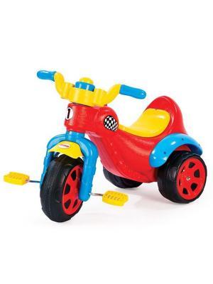 Пластиковый велосипед для самых маленьких Dolu.. Цвет: красный