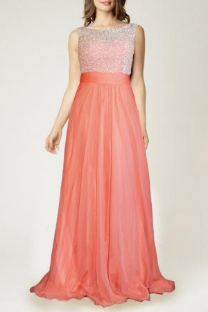 Платье Dynasty. Цвет: оранжевый