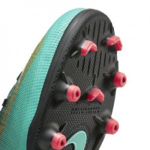 Футбольные бутсы для игры на разных покрытиях дошкольников/школьников  Jr. Mercurial Superfly VI Club CR7 MG Nike. Цвет: зеленый