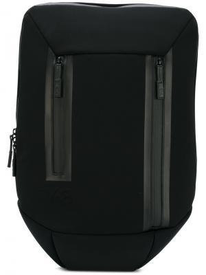 Плоский рюкзак Y-3. Цвет: чёрный