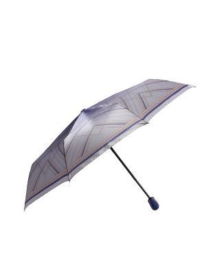Зонт Fabretti. Цвет: светло-голубой