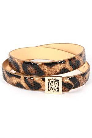 Ремень STEFANIA. Цвет: леопардовый