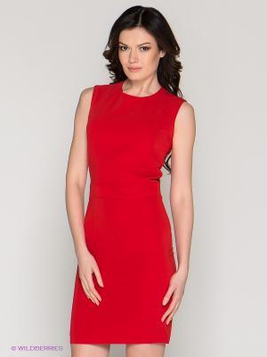 Платье MELANY. Цвет: красный