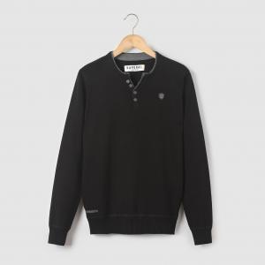 Пуловер с круглым вырезом, 10 - 16 лет KAPORAL 5. Цвет: черный