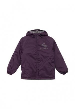 Куртка утепленная Huppa. Цвет: фиолетовый