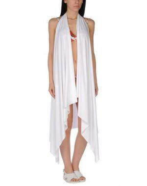 Пляжное платье FISICO. Цвет: белый