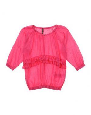 Блузка MANILA GRACE. Цвет: фуксия
