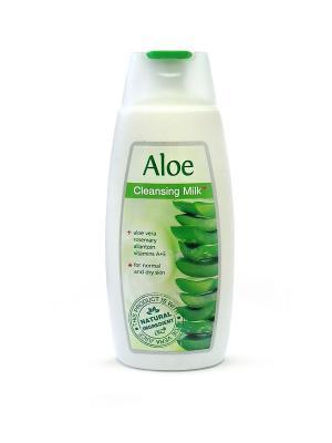 Туалетное молочко для нормальной и сухой кожи AЛОЭ, 250мл., (Болгария) REGAL. Цвет: зеленый