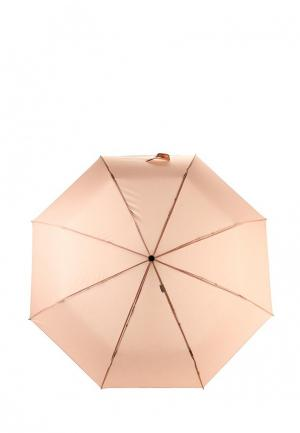 Зонт складной Labbra. Цвет: розовый