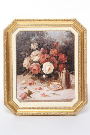 ПостерЦветы в вазе F.A.L. Цвет: мультиколор