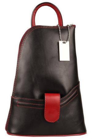 Рюкзак Lattemiele. Цвет: black, red