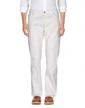 Повседневные брюки JEY COLE MAN. Цвет: белый