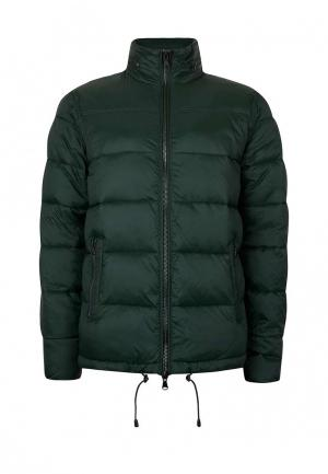 Куртка утепленная Topman. Цвет: зеленый