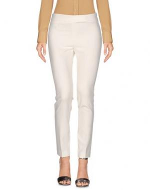 Повседневные брюки REVISE. Цвет: слоновая кость
