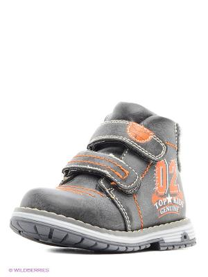 Ботинки на байке KENKA. Цвет: серый