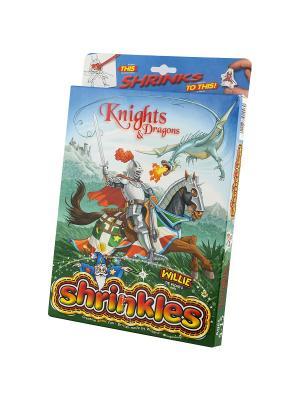 Набор для творчества  Подарочный Рыцари и драконы Светлячок. Цвет: голубой, оранжевый