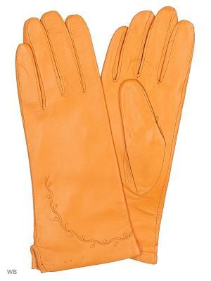 Перчатки UFUS. Цвет: оранжевый