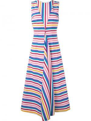 Платье Milly Emilia Wickstead. Цвет: белый