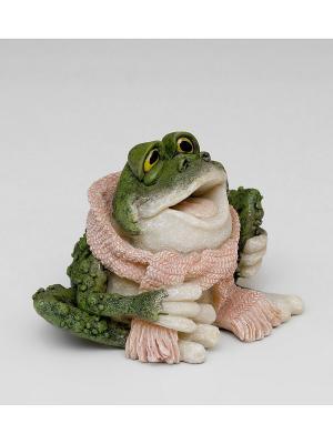 Фигура мал. Лягушка Стиляга Sealmark. Цвет: зеленый