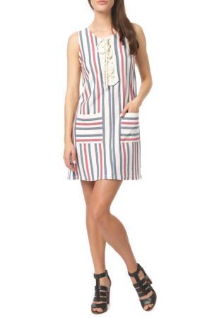 Платье DEBY DEBO. Цвет: multicolor