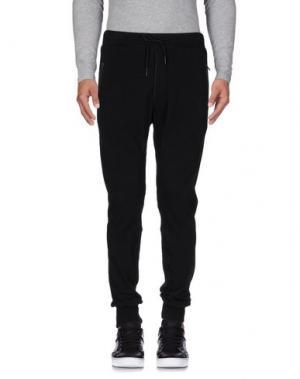 Повседневные брюки YOON. Цвет: черный