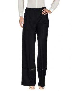Повседневные брюки VERONIQUE BRANQUINHO. Цвет: черный