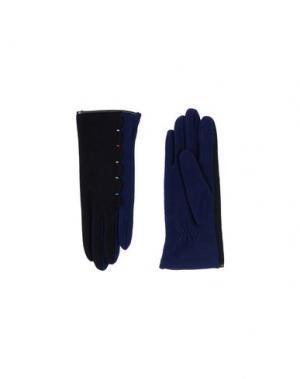 Перчатки L' APÉRO. Цвет: темно-синий