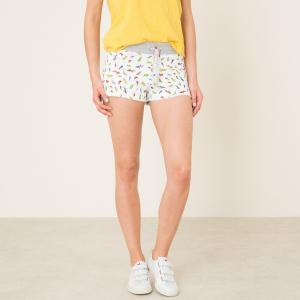 Шорты SHORTY PRINT SWEET PANTS. Цвет: белый наб.рисунок