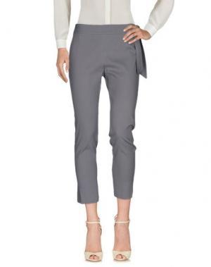 Повседневные брюки JUCCA. Цвет: серый