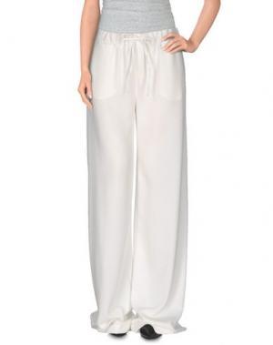 Повседневные брюки LE RAGAZZE DI ST. BARTH. Цвет: белый