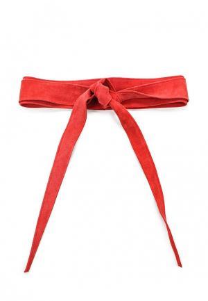 Пояс Olio Rosti. Цвет: красный