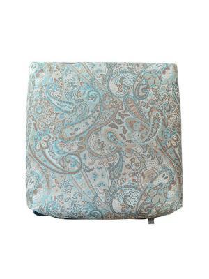 Декоративная подушка Саната Блу Топаз с компаньоном LACCOM. Цвет: лазурный