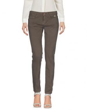 Повседневные брюки JAGGY. Цвет: свинцово-серый