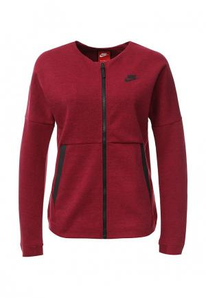 Свитшот Nike. Цвет: красный