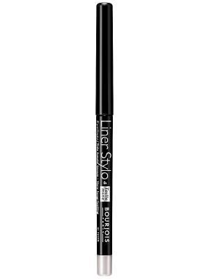 Контурный карандаш с точилкой для макияжа глаз Liner stylo 41 тон Bourjois. Цвет: черный
