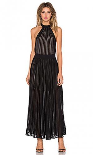 Макси платье regal NBD. Цвет: черный